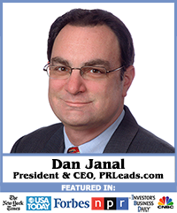 Dan Janal, president of PR LEADS