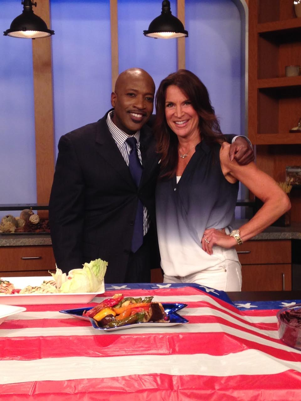 Debi Silber and TV host Antwon Lewis