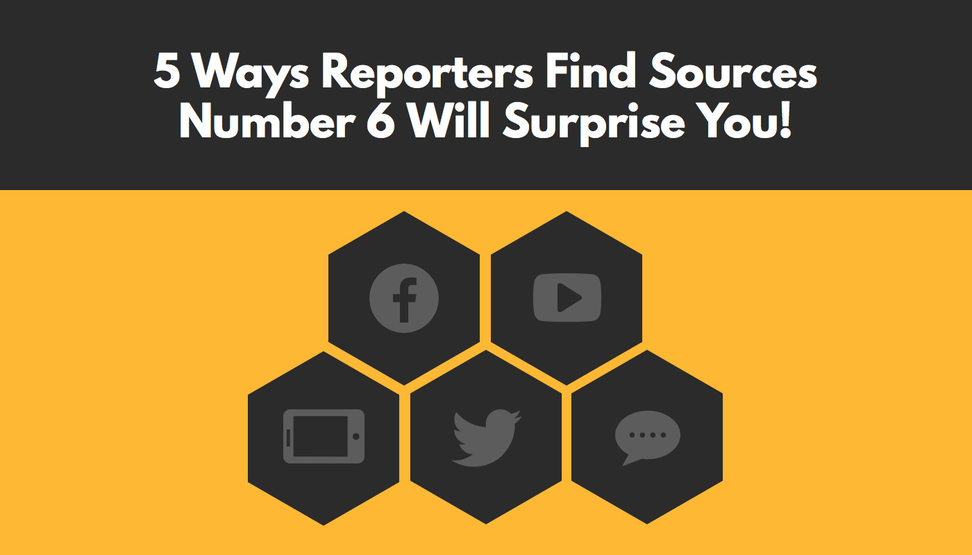 5 ways reporters find sources