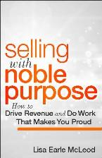 Selling with Noble Purpose cover