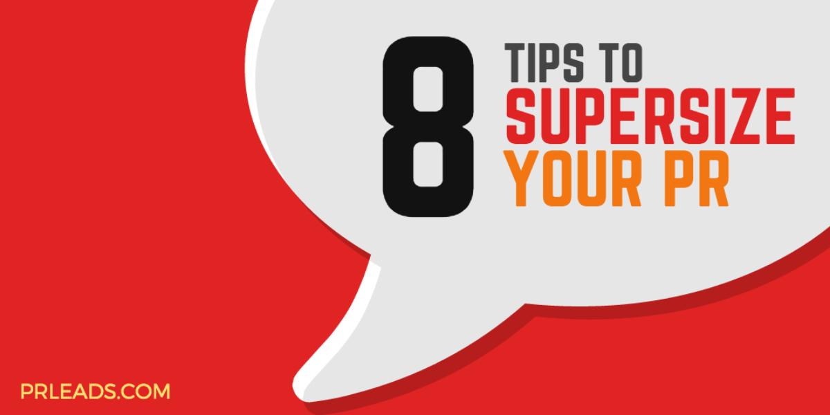 8 tips pr